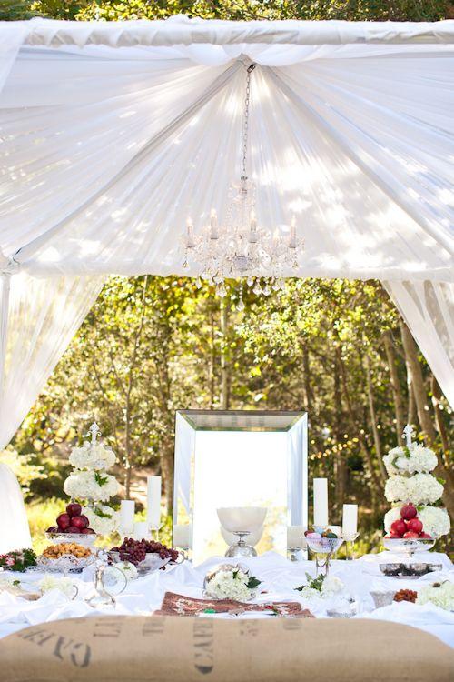 sofreh aghd inspiration: veil, chandelier/sunlight...
