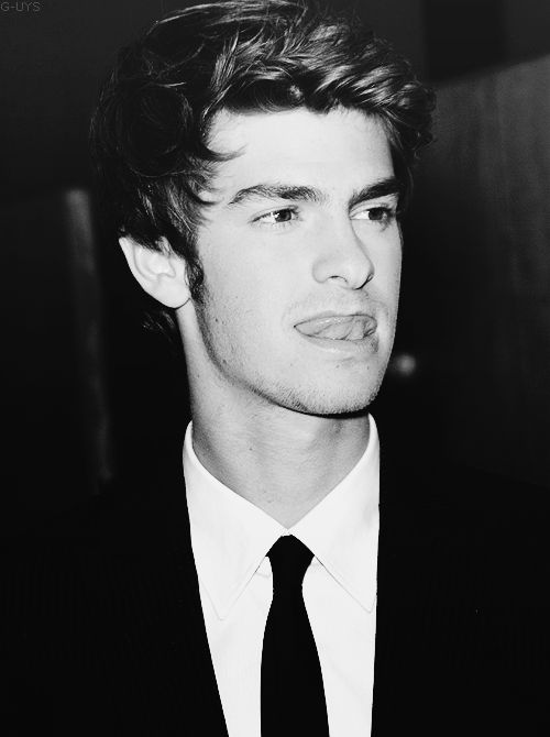 Andrew Garfield/Spider-Man. Here is an example of a beautiful man.