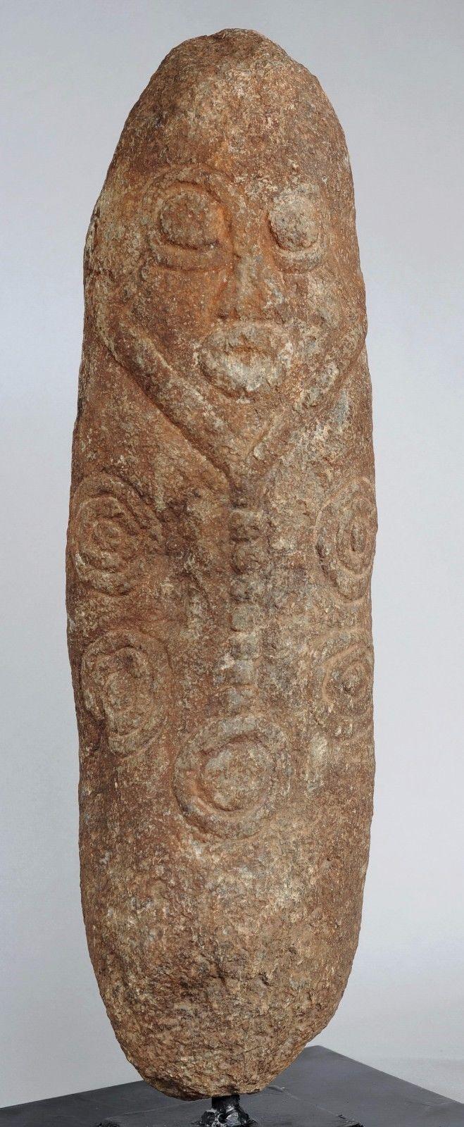 Monolithe Akwanshi Atal Statue pierre Cross River Nigeria stone sculpture Ekoi | eBay