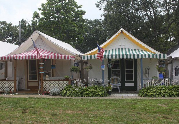 Tent City Life In Ocean Grove S One Of A Kind Community