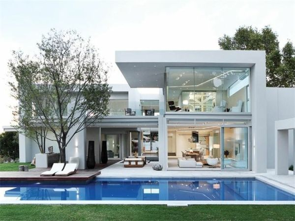 8 best Belles maisons images on Pinterest House exteriors, Modern - devis construction maison en ligne