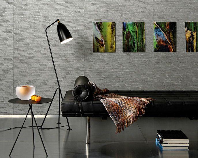 Behang ARTE Bakbak Mosaïc - Jungle Collectie  Geef uw muren een persoonlijk karakter met dit behangpapier gemaakt van natuurlijke materialen. Zoals hier toegepast met gedroogde bast van de banan...