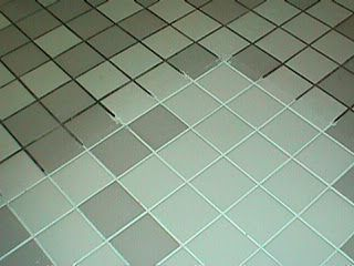Make your floors look new again. Spay on a mixture of 7 cups water, 1/2 cup baking soda, 1/3 cup ammonia (or lemon juice) and 1/4 cup vinegar. Let sit for an hour then scrub off.