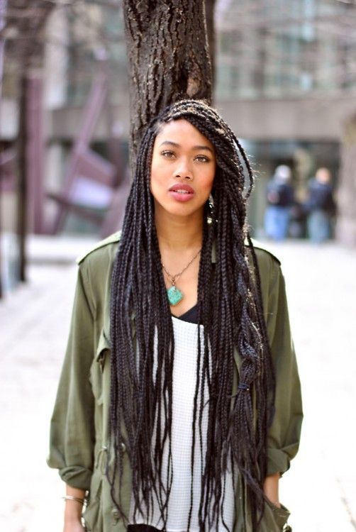 Box Braids Hairstyles | Popular Women Hairstyles, Popular Women Haircuts - Part 4