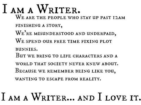 I am a writer essay
