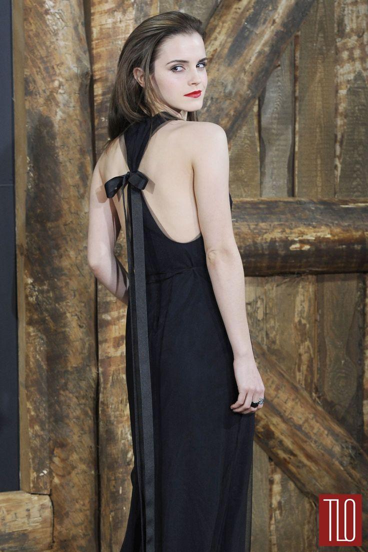 "Emma Watson in Wes Gordon at the ""Noah"" Berlin Premiere | Tom & Lorenzo Fabulous & Opinionated"