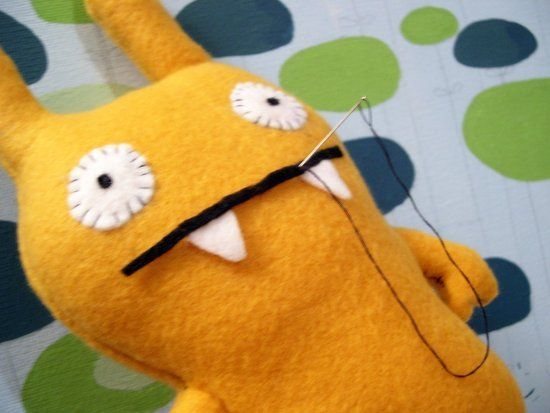 """How to make monster stuffed animals for """"adopt a monster"""" idea at birthday party!"""