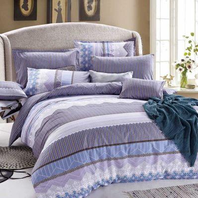 shopinside.com.au - Brooks Purple Quilt Cover Set