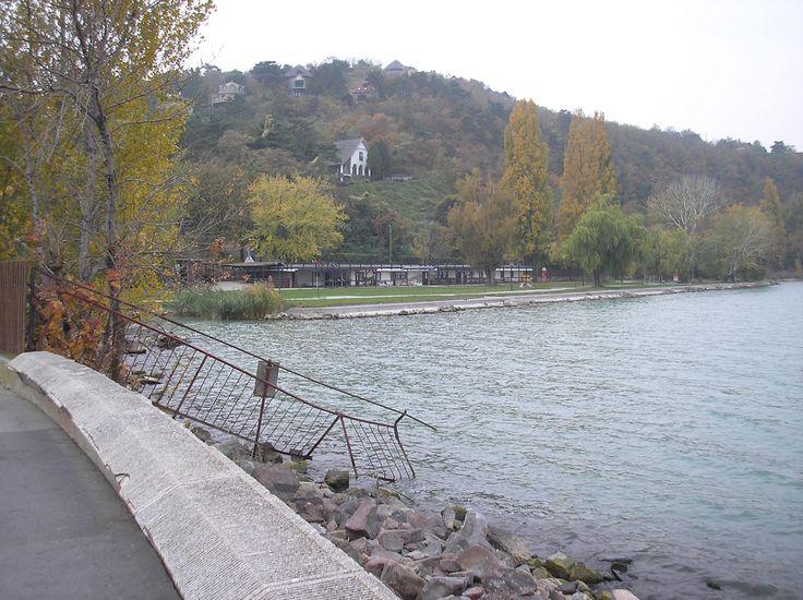 Amazing lake Balaton in Hungary