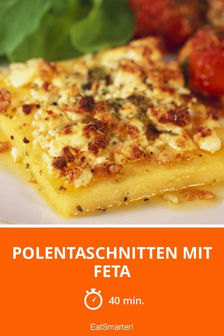 Polentaschnitten mit Feta