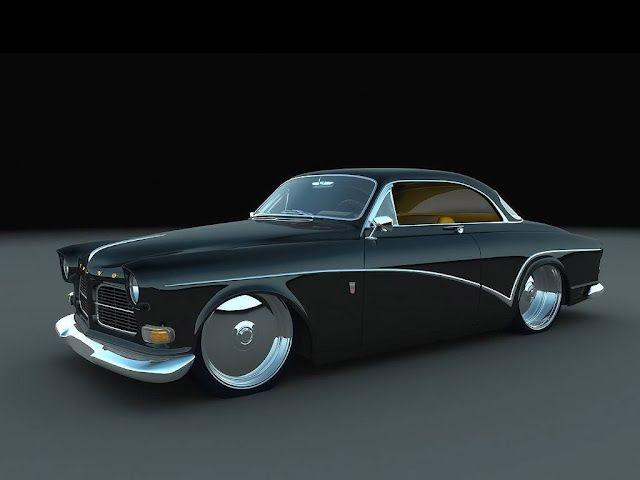 Rendered Volvo - slammed