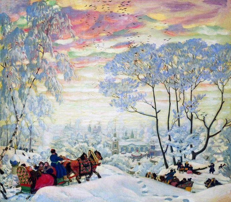 Борис Кустодиев. Зима