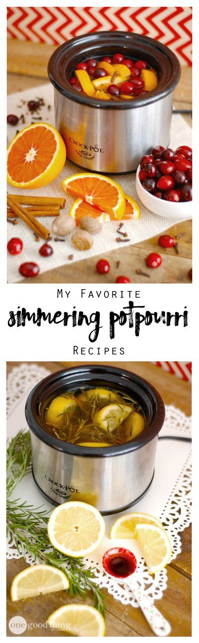 My Favorite Simmering Potpourri Recipes