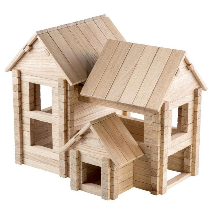 IGROTECO Cottage4/1 Building Set Wooden Toys UK Seller DIY Assembly Perfect Gift  | eBay