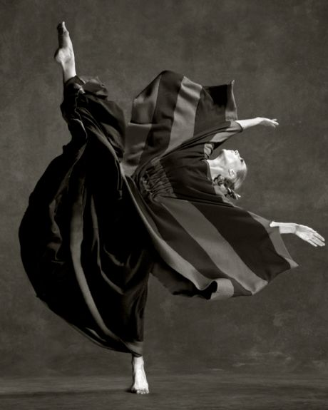 """It is of course possible to dance a prayer, for dancing is merely the hidden language of the soul."" ~Martha Graham (She also featured in this photo.)"