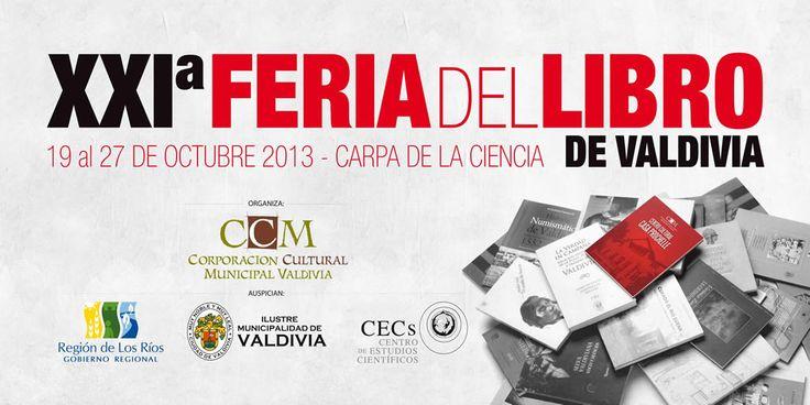 La Corporación Cultural Municipal prepara XXI versión de la Feria Internacional del Libro de Valdivia
