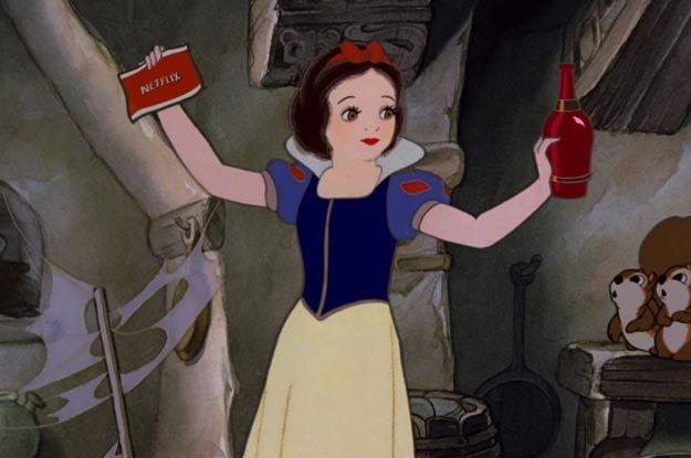 Snow White | If Disney Princesses Were Thirtysomethings