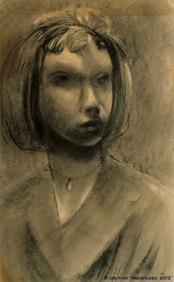Jansson, Tove Self-portrait , undated