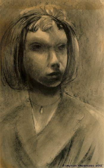 Jansson, Tove Self-portrait , undated