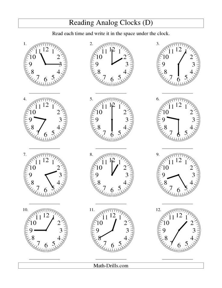 Reading Clocks Worksheet Free Worksheets Library – Analog Clock Worksheet