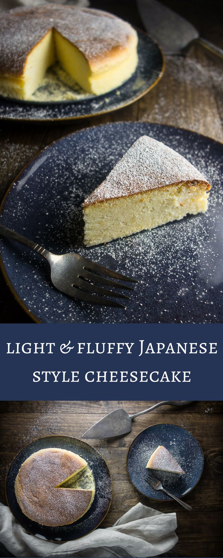 This light & fluffy Japanese style cheesecake (or soufflé cheesecake) will totally melt in your mouth - perfect for that cheesecake lover in your life!    japanese cheesecake recipe | soft fluffy Japanese cheesecake | Japanese desserts | Japanese recipes | soufflé cheesecake | airy Japanese cheesecake | Japanese cotton cheesecake | creamy Japanese cheesecake | best cheesecake   via @Went Here 8 This