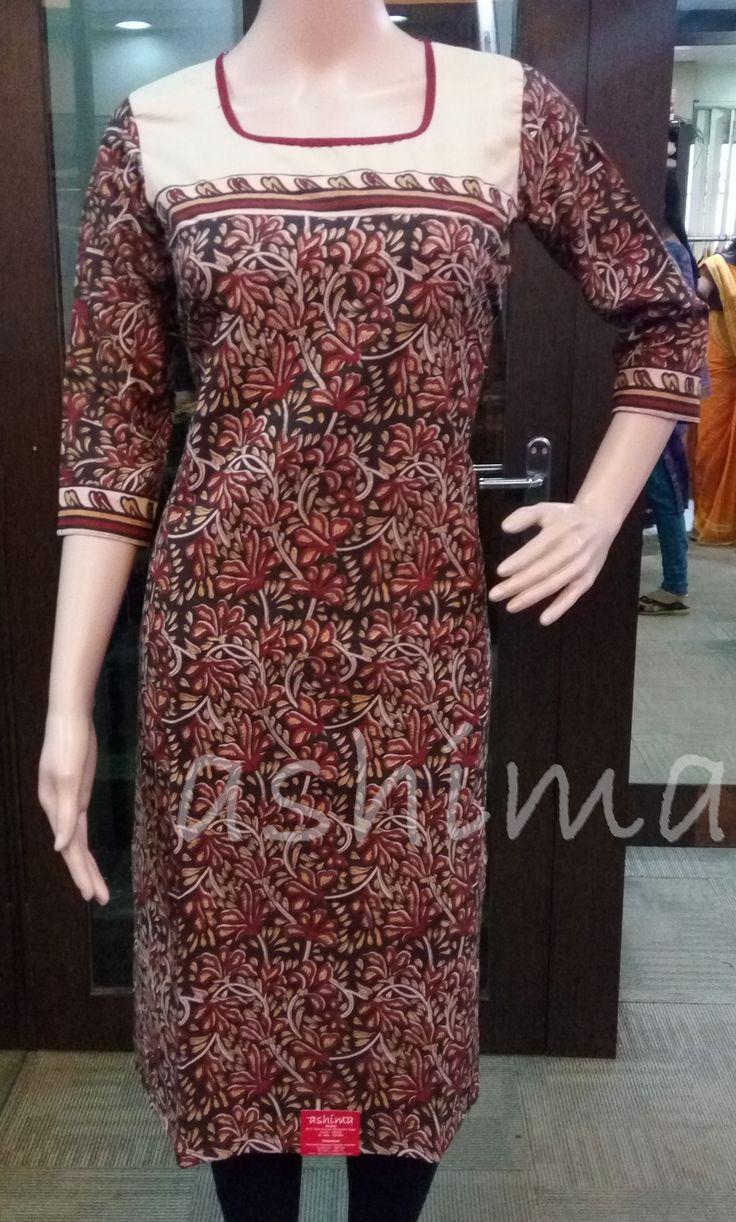 Block Printed Cotton Kurti  Code:0106162, Price INR:1090/-