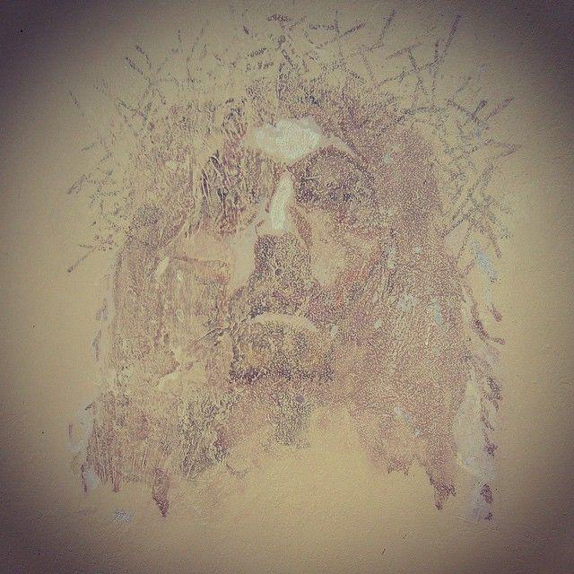 #Mural rostro de #cristo creado en #cartagena #baru
