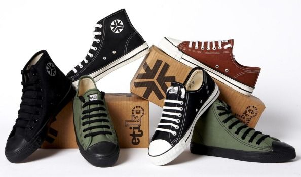 Guilt-free walking: Etiko sells organic, biodegradable, vegan shoes that come from a supply chain free of sweatshop, ...
