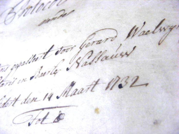 Voor BAARLE NASSAU zijn de notariële archieven materieel verzorgd en worden gescand. Het gaat om historische stukken uit 1490 tot 1847. Een grote schat aan informatie komt hiermee beschikbaar voor onderzoekers.