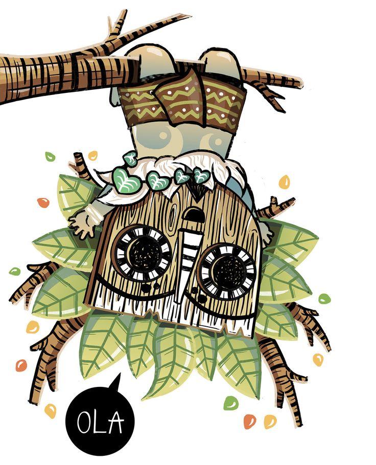 Behance :: Editing Eon-Character Design For Cremelin Patisserie et Café