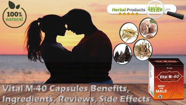 Reviews Of Vital M 40 Capsules Side Effects Benefits Ingredients Capsule Male Fertility Side Effects