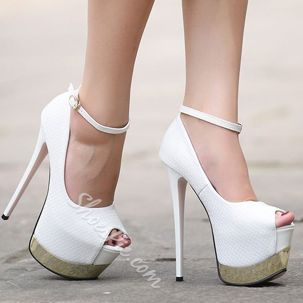Shoespie Classy Night Club Sky High Platform Heels