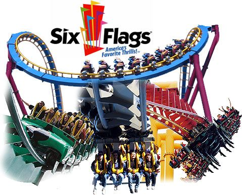 Six Flags Magic Mountain...the best coasters on the planet.  X2 may kill you.  Golliath and Tatsu are AMAZING!