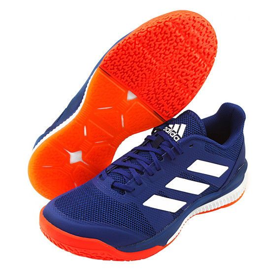 9e90863a9c040 adidas Stabil Bounce Badminton Shoes Unisex Blue Indoor Sports Sneakers  B22648  adidas