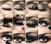 Smokey eyes #eyemakeup #eyes