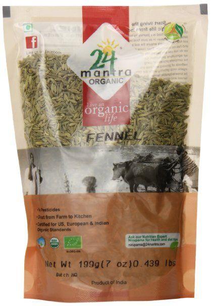 24 Mantra Organic Fennel Seed