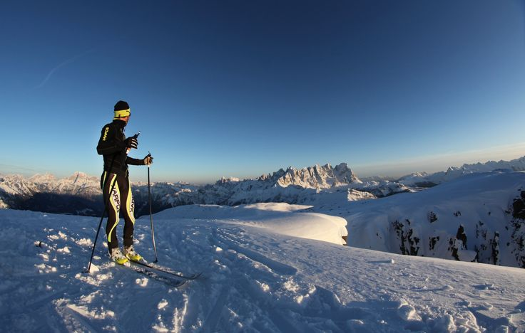 Beautiful winter views in #dolomitistars