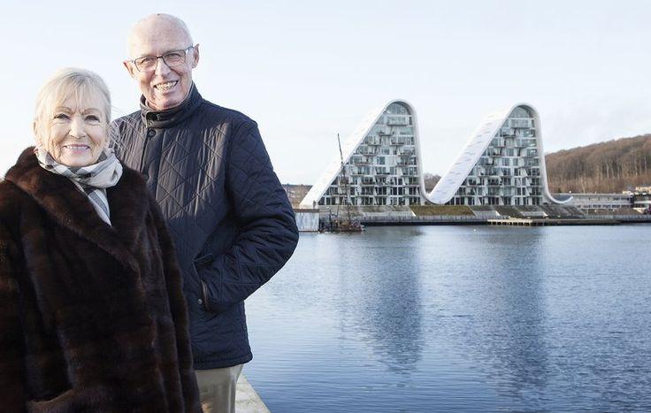 Edith og Jørgen Jensen solgte deres hus efter 40 år og flyttede ind i en moderne lejlighed i Bølgen i Vejle