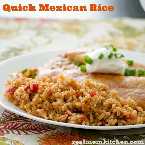 Quick Mexican Rice | realmomkitchen.com
