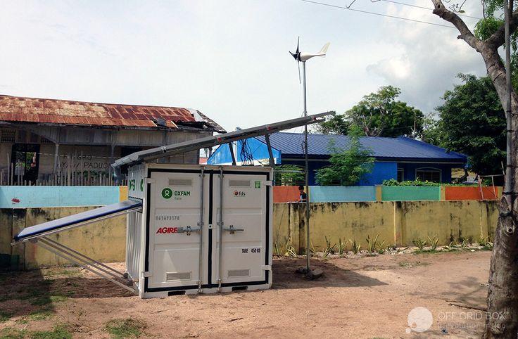 Off Grid Box in Philipphines La Fabbrica del Sole + Oxfam Italia