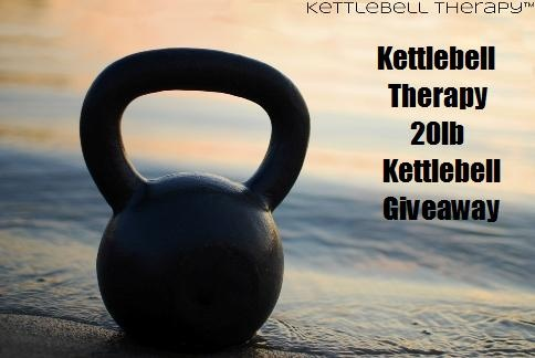 Kettlebell Therapy™ 20lb Kettlebell Giveaway!