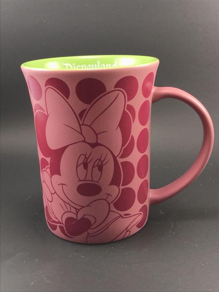 Disneyland Resort Pink Polka Dot Minnie Mouse Mug  | eBay