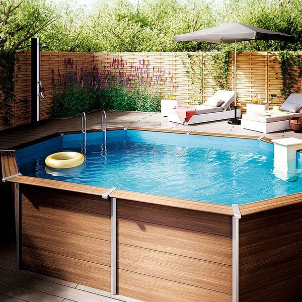 M s de 1000 ideas sobre piscinas para patios peque os en for Albercas en patios pequenos