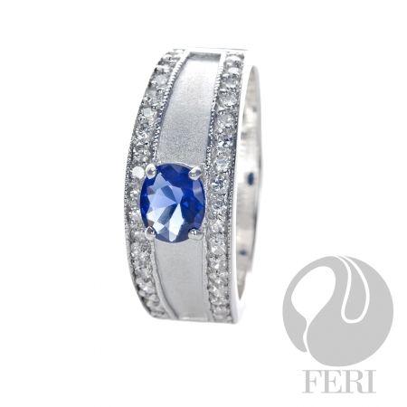 Global Wealth Trade Corporation - FERI Designer Lines- FERI Glacier Star - Ring