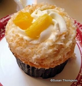 Have to get this on next trip. New! Pineapple Coconut Cupcake at Epcot's Sunshine Seasons