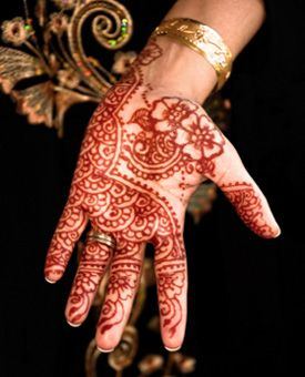 Weekend Fun - Henna Tattoo