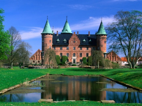 Trolleholm Castle, near Eslov, Skane, Sweden