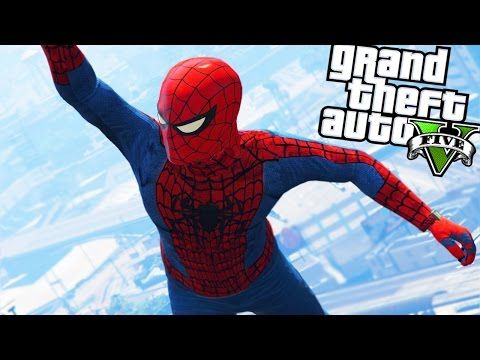 GTA 5 Mods - ULTIMATE SPIDERMAN MOD! GTA 5 Spiderman Mod Gameplay! (GTA 5 Mods Gameplay) - YouTube