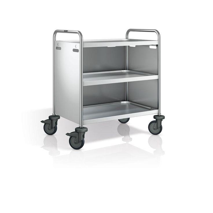 GTARDO.DE:  CNS Verkleidung 3-seitig aus Edelstahl, für Servierwagen SW 8x5-2 oder SW 8x5-3 243,00 €