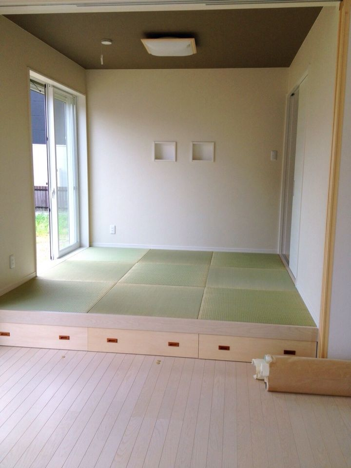 うさぎの★うーさま★と☆おうち☆ : 和室 2014-08-28-15-09-30 天井のクロス ...